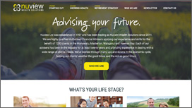 Nuview Wealth Solutions Website